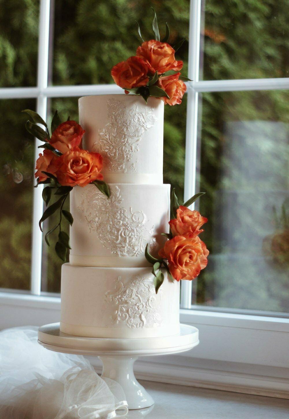 ArtOfCakeNY Gumpaste Roses Cake