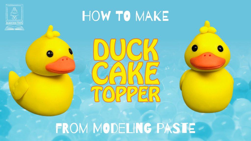 Duck Cake Topper Tutorial