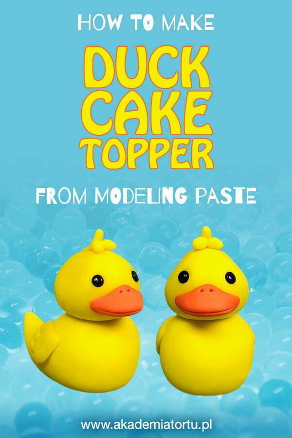 Duck Cake Topper Pin