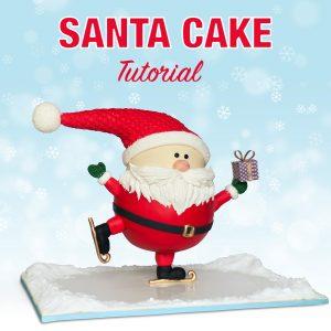 Christmas Anti-Gravity Cake