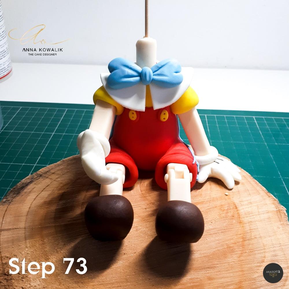 Fondant Pinocchio Cake Topper