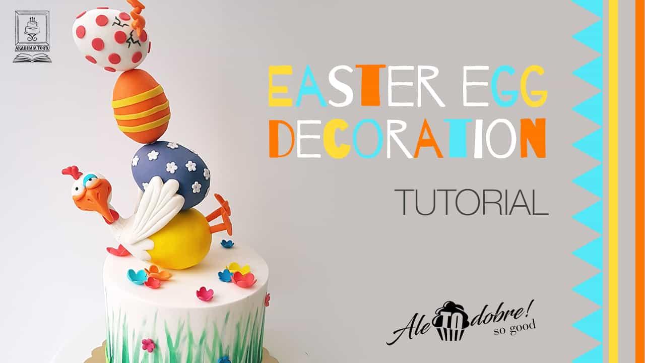Easter Egg Cake Topper Tutorial