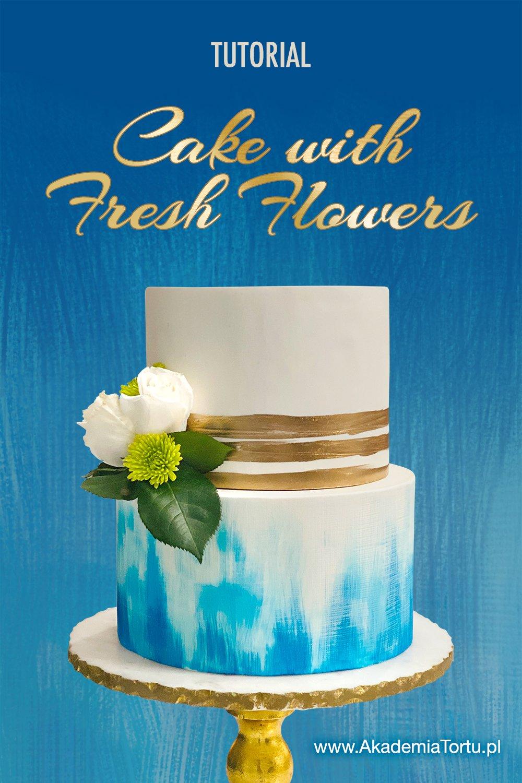 fresh flower cake decorations