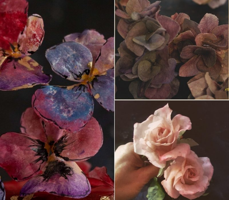 AkademiaTortu-Beata_Tomasiewicz-Wafer_paper_rose-hydrangea-pansy-sq